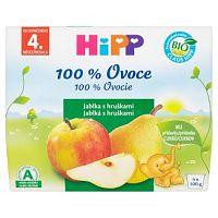 HiPP BIO Jablká s hruškami 4x100g