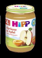 HiPP BIO Jablká s marhuľami 6x 190g