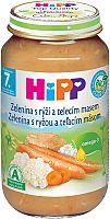 HiPP BIO Zelenina s ryžou a teľacím mäsom 6x220g