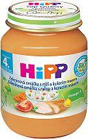 HiPP BIO Zeleninová omáčka s ryžou a kuracím mäsom 6x125g