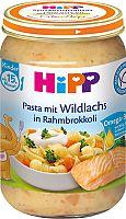 HiPP Cestoviny s lososom, brokolicou a smotanou 6x250 g