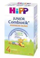 HiPP Pokračovacia MDV 4 Junior Combiotik 4x600g - NOVINKA