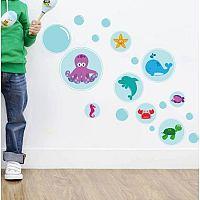Housedecor Samolepka na stenu Bubble sea