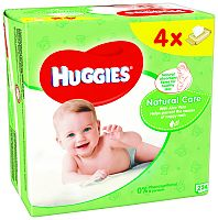 Huggies Natural Care Quatro Pack (56x4)