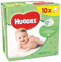 Huggies wipes Natural Care 10x56ks