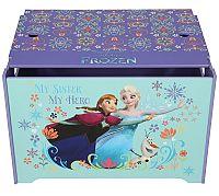 JNH Detská truhla Frozen - farebná