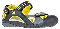 Kamik Detské sandále - žlto-čierne, EUR 28