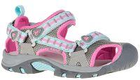 Kamik Dievčenské sandále - ružovo-šedé, EUR 34