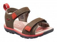 Keen Chlapčenské sandále Riley II K, cascade Brown / bossa nova, EUR 27/28