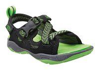 Keen Chlapčenské sandále Rock Iguana JR, black / jasmine green, EUR 27/28