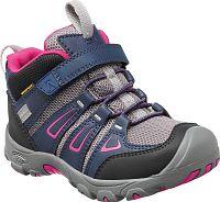 Keen Dievčenské členkové topánky Oakridge WP - fialovo-šedé, EUR 25/26