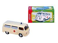 KOVAP Auto VW Ambulancia kov 12 cm 1:43