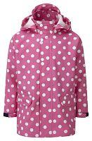 Kozi Kidz Dievčenský kabát do dažďa Kappa - ružový