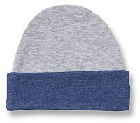 Lafel Chlapčenská čiapka Dino - šedo-modrá, 68 cm