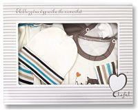 Lafel Chlapčenský dojčenský set Sova - farebný, 56 cm