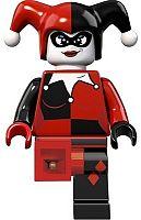 LEGO® LED Lite Detská svietiaca figúrka DC Super Heroes Harley Quinn - červená