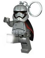 LEGO® LED Lite Detská svietiaca figúrka Star Wars Captain Phasma - strieborná