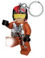 LEGO® LED Lite Detská svietiaca figúrka Star Wars Poe Dameron - oranžová