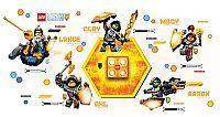 LEGO® LED Lite Detské nočné orientačné svetlo NEXO Knights