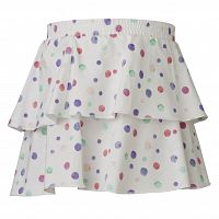 LEGO® wear Dievčenské bodkovaná sukňa Deena 402 - biela, 86 cm