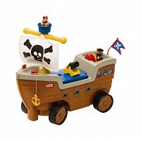 Little Tikes Pirátska loď odrážadlo so zvukmi