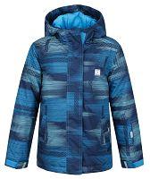 LOAP Chlapčenská lyžiarska bunda Zelma - modrá, 128 cm