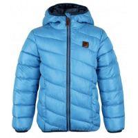 LOAP Chlapčenská zimná bunda Ulrich - modrá, 110-116 cm
