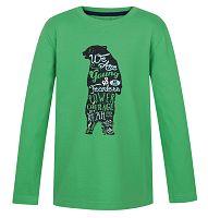 LOAP Detské tričko Ibsen - zelené, 140 cm