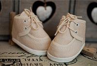 Lola Baby Detské topánočky - béžové, EUR 21