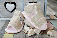 Lola Baby Dievčenské sandálky so srdiečkami - béžové, EUR 18