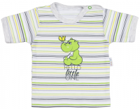 Mamatti Chlapčenské tričko s hrochom, 74 cm