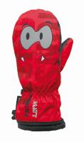 Matt Detské palčiaky Monster - červené, 92 cm