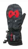 Matt Detské palčiaky Monster - čierne, 98 cm