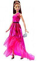 MATTEL Barbie Večerné šaty - brunet