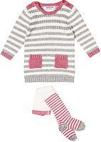 Minoti Dievčenský dvojkomplet svetra a pančucháčov - farebný, 80-86 cm