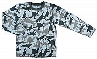 MMDadak Chlapčenské tričko s dinosaurami - farebné, 110 cm