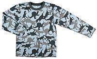 MMDadak Chlapčenské tričko s dinosaurami - farebné, 98 cm