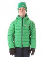 Nordblanc Chlapčenská zimná bunda Will - zelená, 122-128 cm