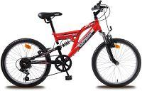 """Olpran Detský bicykel Buddy 20"""" - červeno čierne"""