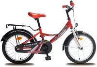 "Olpran Detský bicykel Demon 16"" - bielo-červené"