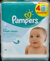 Pampers Obrúsky Baby Fresh 4x64 ks