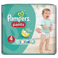 Pampers Pants plienkové nohavičky 4 Maxi (9-14 ks), 24 ks