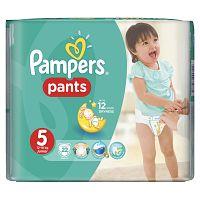 Pampers Pants plienkové nohavičky 5 Junior (12-18 kg), 22 ks
