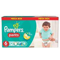 Pampers Pants plienkové nohavičky 6 Extra Large (16-22 kg), 88 ks