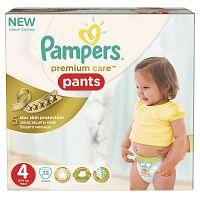 Pampers Premium Care Pants 4 Maxi 9-14kg, 22ks nohavičkové plienky - jednorazové