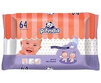 Panda Vlhčené obrúsky 4x64 ks