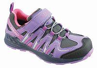 Peddy Dievčenské outdoorové topánky s membránou - fialové, EUR 32