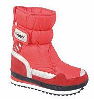 Peddy Dievčenské snehule, červené, EUR 33