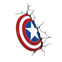 Philips Disney 3D svetlo Shield Captain America - Avengers