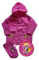 PIDILIDI Detská pláštenka Krtko - ružová, 6 let